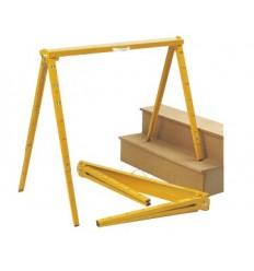 Caballete para madera y aluminio