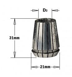 Pinza portafresas D 8 mm